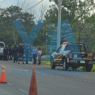 Hieren de bala a un policía de la SSP Yucatán
