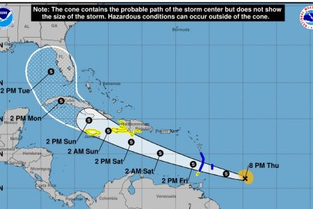 Mañana, día clave para saber si Elsa podría afectar la Península de Yucatán