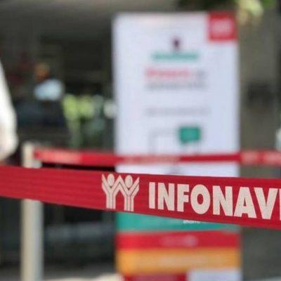 Cierra de nuevo delegación del Infonavit en Yucatán por un caso de Covid-19: del 5 al 7 de julio