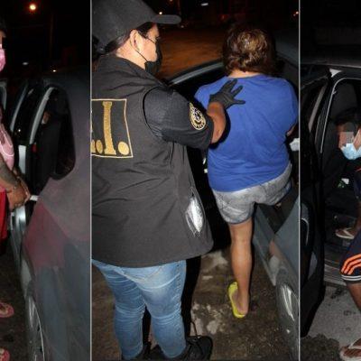 Razzia contra narcomenudistas: tres detenidos y droga asegurada