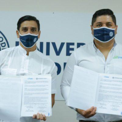 La Universidad Modelo firma un convenio con el Instituto Kinesia