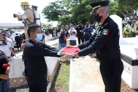 Emotivo adiós al policía Raúl Adrián Couoh Aké: es de esos hombres que nunca se van