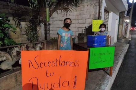 Niñas de Yucatán salvan su casa tras empeñarla para pagar el funeral de su madre