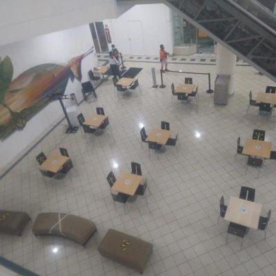 Abren zona de estudio en la Gran Plaza, con mesas, internet y enchufes