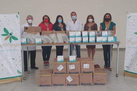 Donan material médico al Hospital Regional de Alta Especialidad