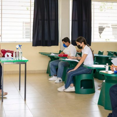 El 88% de maestros de escuelas públicas en Yucatán regresó a las aulas