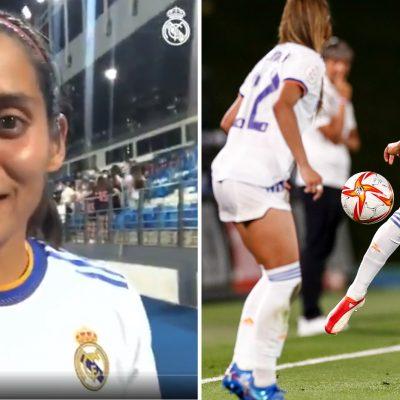 La mexicana Kenti Robles hace el primer gol del Real Madrid en la Champions femenil