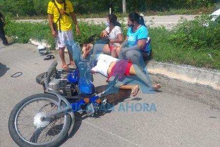 Fallece motociclista en la carretera Mérida-Chetumal