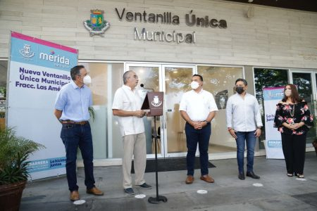 Inauguran la Ventanilla Única Municipal en el fraccionamiento Las Américas