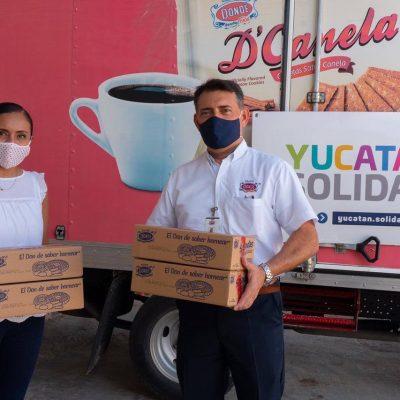 Por segunda ocasión, la iniciativa Yucatán Solidario es reconocida por la ONU