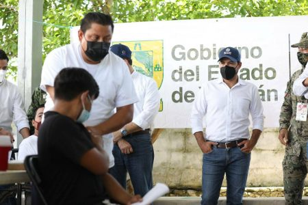 Del jueves 12 al martes 17 de agosto, segundas dosis contra Covid-19 a gente de 40 a 49 años en Mérida