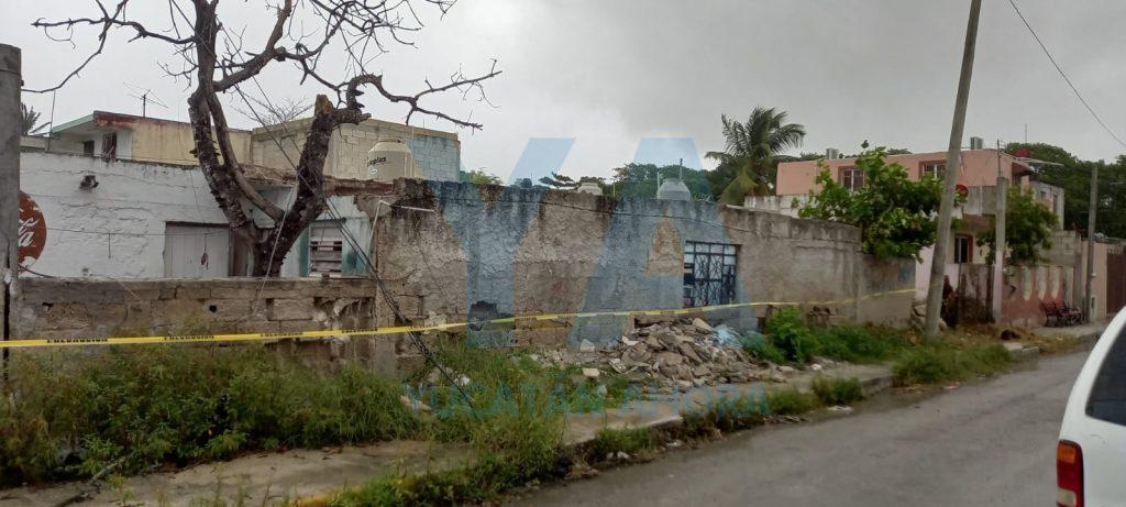 Se derrumba el techo de una casa abandonada en Progreso – Yucatan Ahora