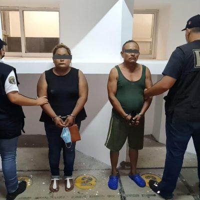 Detienen a pareja por sonado homicidio en Hunucmá