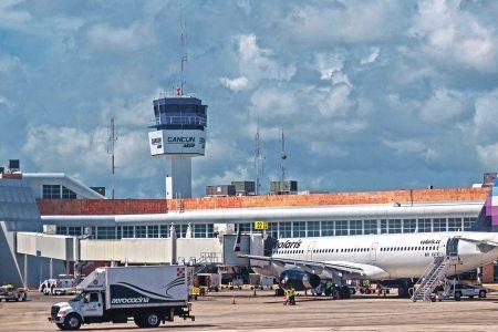 Por huracán Grace, cancelan vuelos de la Ciudad de México a Cancún