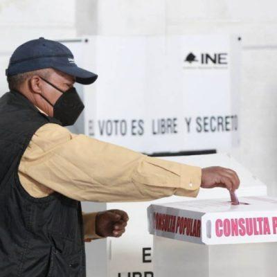 Consulta popular: gana el 'Sí' pero no se alcanza ni el 10 por ciento de participación