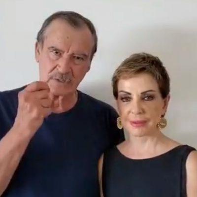 Hospitalizan por Covid-19 a Vicente Fox y Marta Sahagún