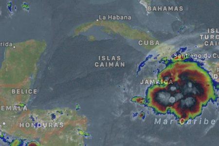 Yucatán, en alerta azul ante el avance de la tormenta tropical Grace hacia la Península de Yucatán