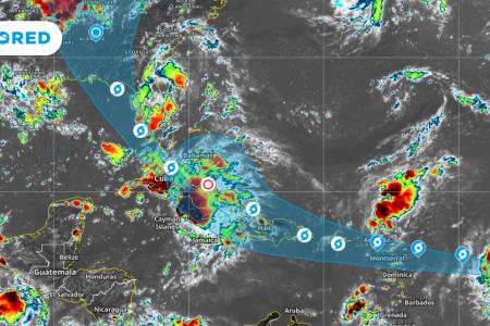 Otro fin de semana con tormentas en la Península de Yucatán