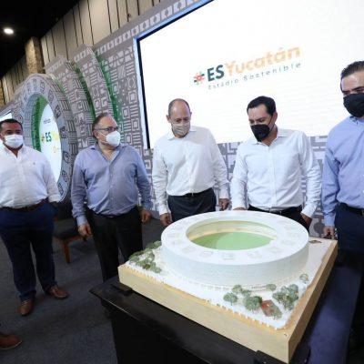 El Estadio Sostenible 'será un nuevo referente de Yucatán en el mundo'