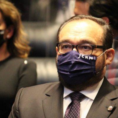 Ramírez Marín presenta punto de acuerdo para erradicar abusos de instituciones policiacas