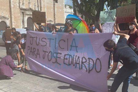 Nueva manifestación en demanda de justicia para José Eduardo