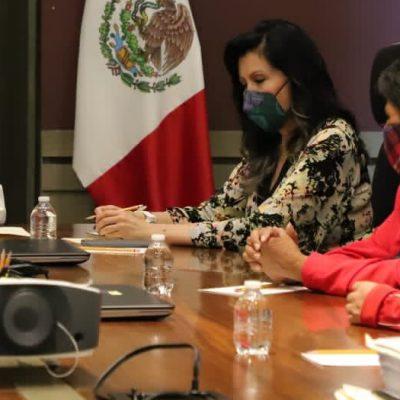 Secretaria de Gobernación se reúne con madre de José Eduardo