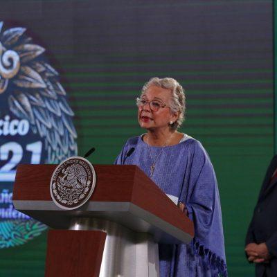 Olga Sánchez Cordero deja Segob y regresa al Senado