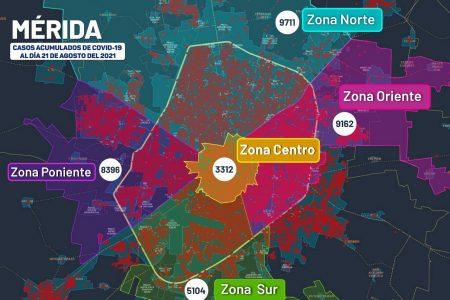 Yucatán rebasa la barrera de 60 mil contagiados de Covid-19