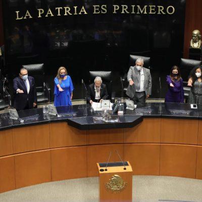 Ramírez Marín, vicepresidente del Senado por cuarto periodo