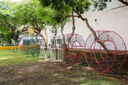 Austera, pero con mucho fervor, Mérida se viste de patria