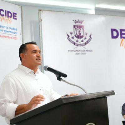 Intensa semana de inicio de la consulta ciudadana 'Decide Mérida 2021'