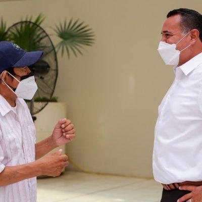 El alcalde Renán Barrera ofrece trabajar en la continuidad de políticas públicas de éxito