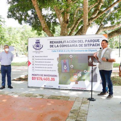 La participación ciudadana garantiza el uso sostenible de los espacios públicos: Renán Barrera