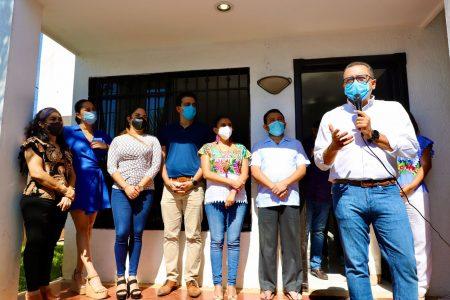 Diputado Víctor Hugo Lozano se acerca a los ciudadanos del IV Distrito