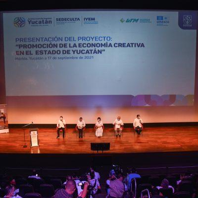 Gobierno del Estado y Unesco impulsan la industria creativa y cultural de Yucatán