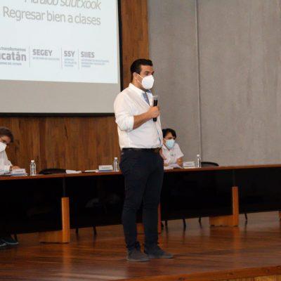 Garantiza Gobierno del Estado retorno seguro en centros de educación superior
