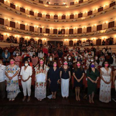 Como hace 105 años, vuelven a hacer historia con el Congreso Mujeres Políticas Yucatán 2021