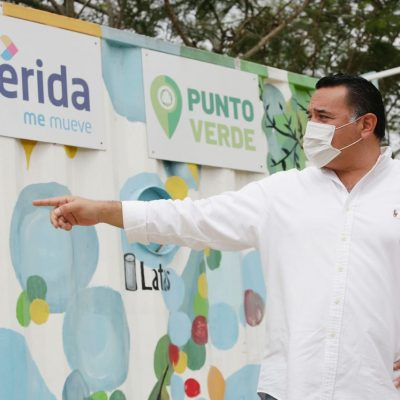 El éxito del programa Puntos Verdes, paso decisivo hacia una Mérida más sustentable: alcalde Renán Barrera