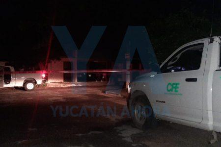 Explosión deja sin luz a dos colonias de Mérida