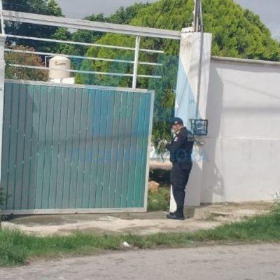 Mujer se pega un tiro tras discutir con sus familiares, en Granjas Kanasín