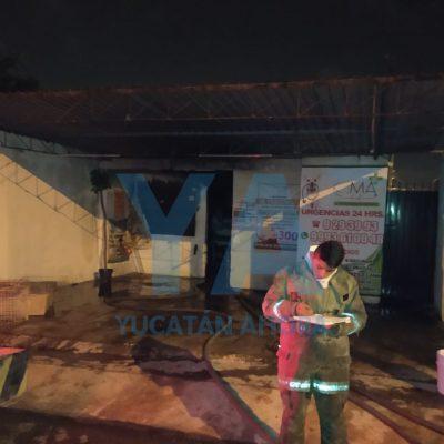 Mueren asfixiados un chihuahua y un perro azteca al incendiarse una veterinaria en Polígono 108