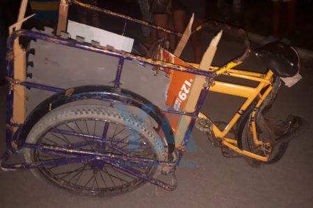 Alcoholizado conductor atropella un triciclo y manda al hospital a dos niños, en Kanasín