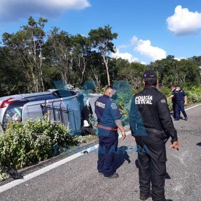 Mueren participantes en rodada de 'bikers' al chocar contra un auto, en la Mérida-Celestún