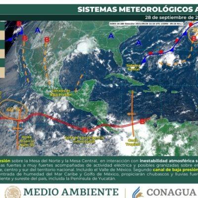 Se aproxima nueva onda tropical: septiembre se despedirá con lluvias