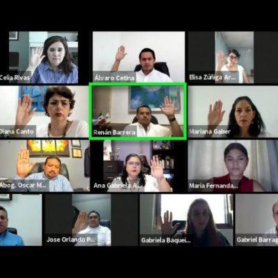 Mérida, con gobierno abierto, honesto y transparente: Renán Barrera
