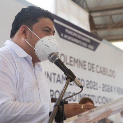Seremos un ayuntamiento responsable, transparente y comprometido: Edwin Bojórquez