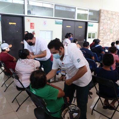 Más vacunas para personas de 40 a 49 años en municipios de Yucatán