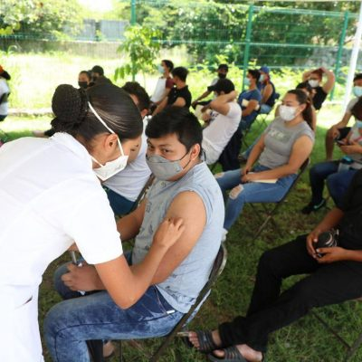 Segundas dosis para millennials de 37 municipios yucatecos, a partir del lunes 6 de septiembre