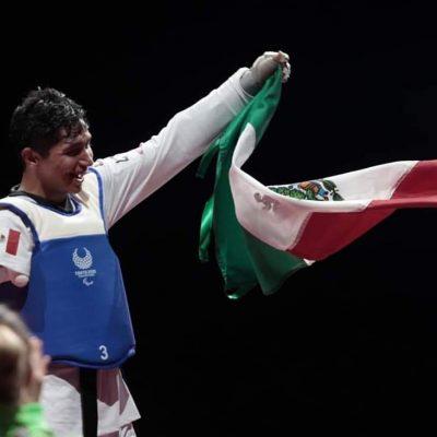 En su debut en paralímpicos, Juan Diego García le da a México su séptimo oro en Tokio 2020