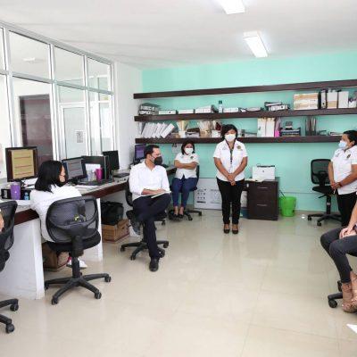 Mauricio Vila recorre el Centro de Justicia para Mujeres